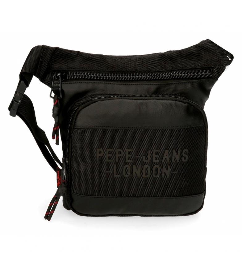 Comprar Pepe Jeans Bum bag Pepe Jeans Bromley Quadrado preto -31.5x24x1.5cm