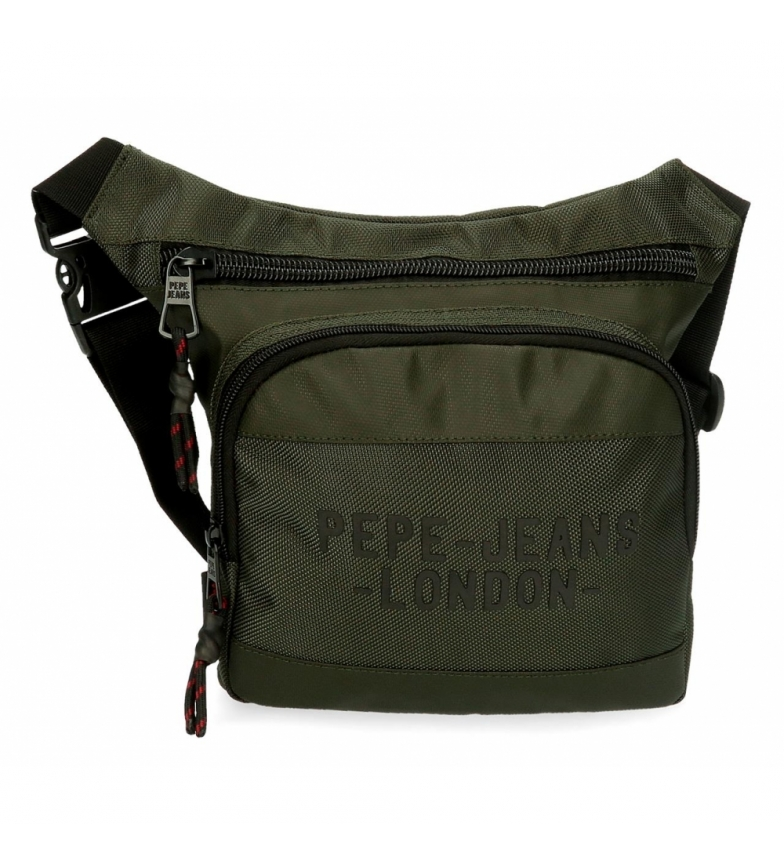 Comprar Pepe Jeans Bum bag Pepe Jeans Bromley Square verde -31.5x24x1.5cm