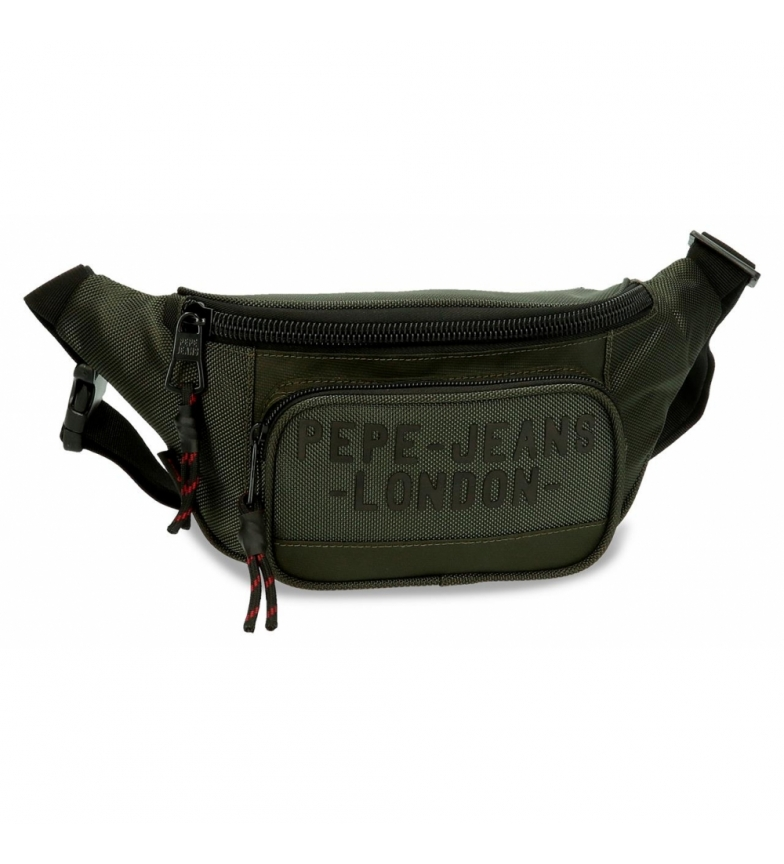 Comprar Pepe Jeans Bum bag Pepe Jeans Bromley verde -35x15x5x5cm