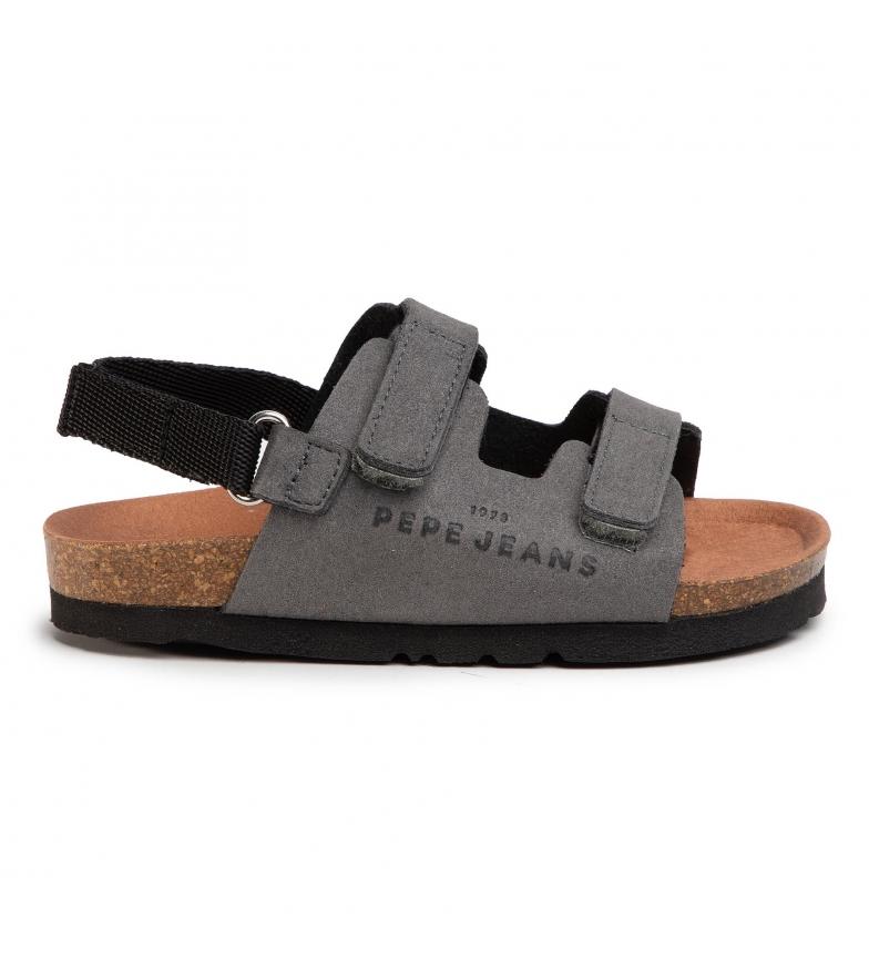 Comprar Pepe Jeans Sandales Bio Velcro Kids gris
