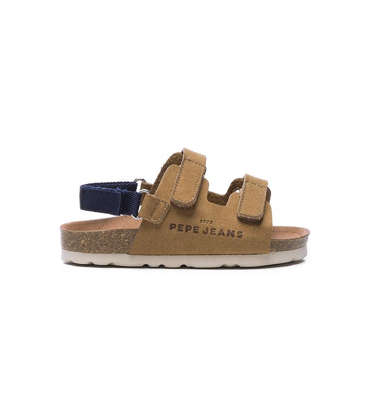 Comprar Pepe Jeans Sandali Bio Velcro Kids marroni