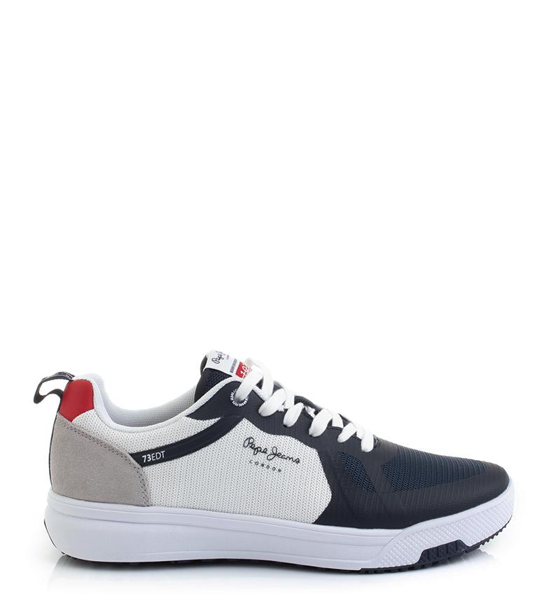 Comprar Pepe Jeans Zapatillas Slate Mesh marino, blanco