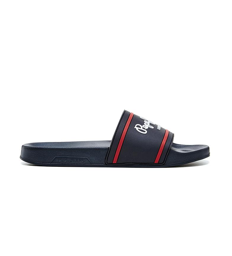 Comprar Pepe Jeans Slider Basic 0.2 slippers blue