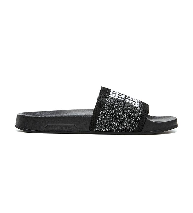 Comprar Pepe Jeans Chanclas Slider Knit negro