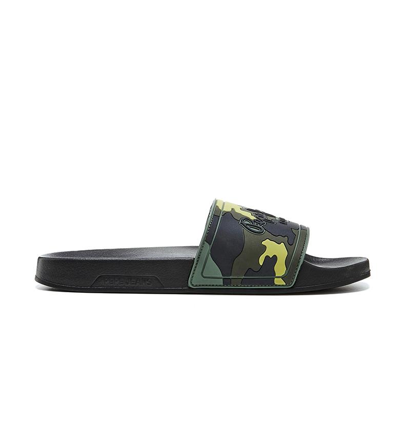 Comprar Pepe Jeans Sliders Slider Mimetic camouflage green