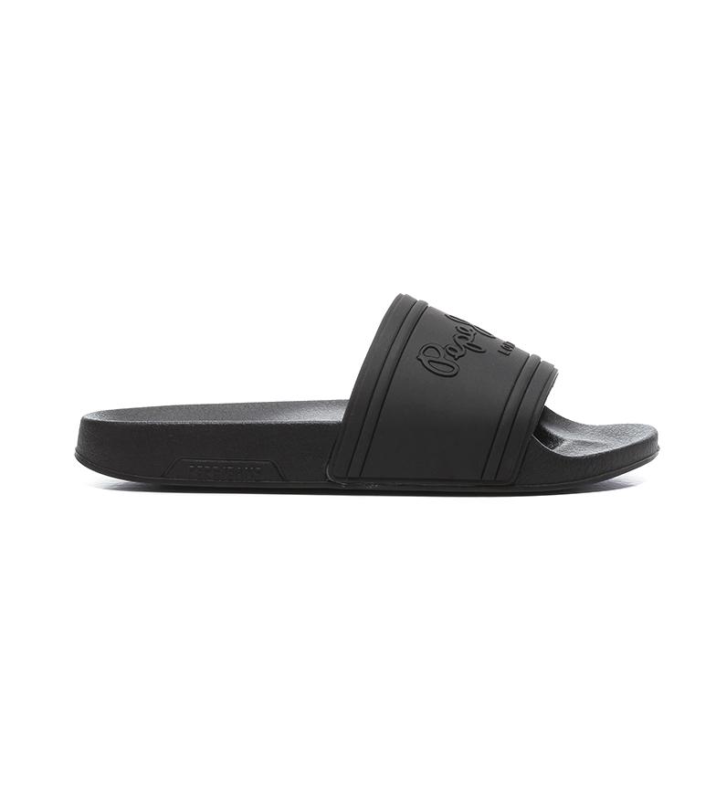 Comprar Pepe Jeans Chanclas Slider Unisex negro