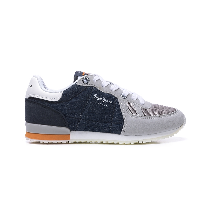Comprar Pepe Jeans Sydney Denim Boy shoes, marinha, cinza