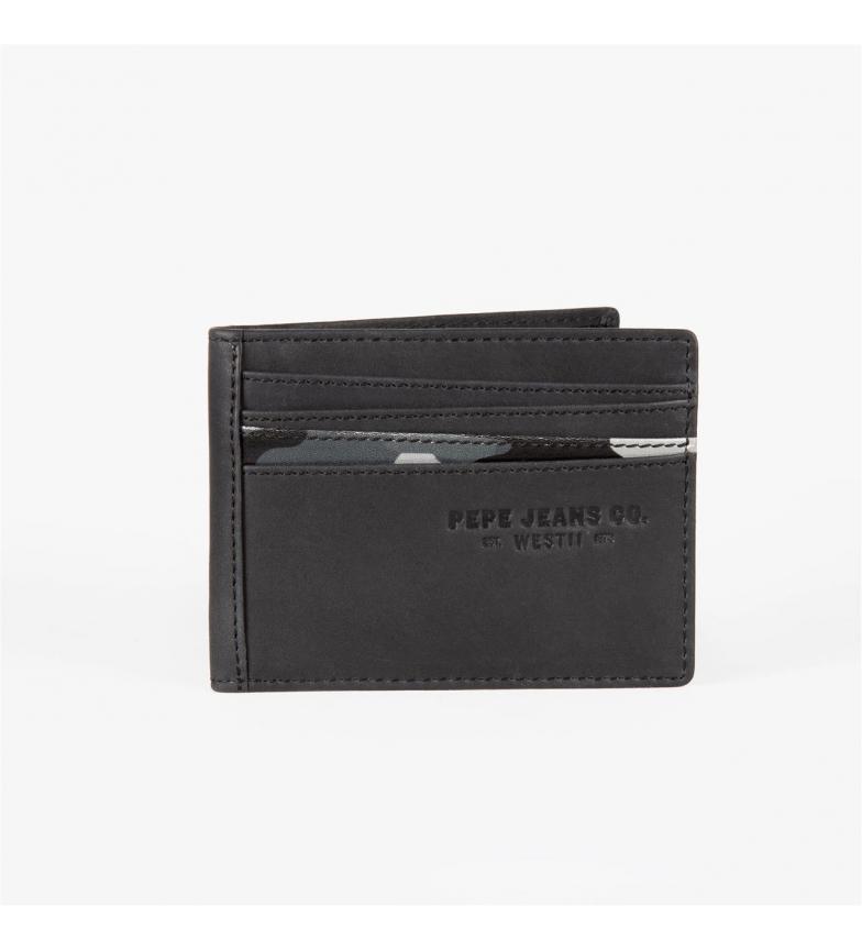 Comprar Pepe Jeans Suporte de cartão Pepe Jeans Delta Black -9,5x7,5 cm-