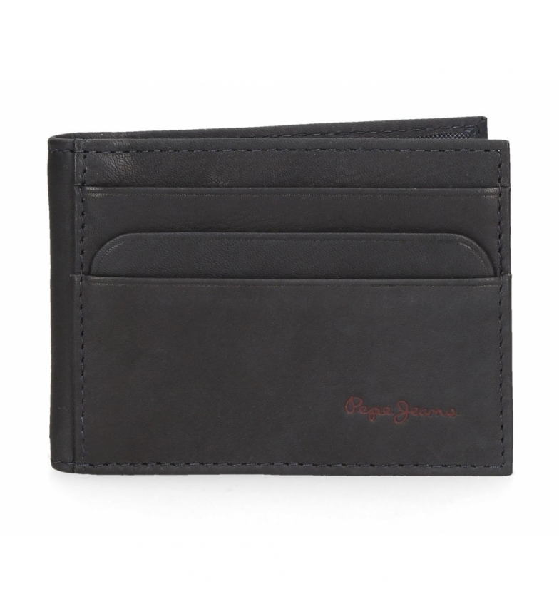 Comprar Pepe Jeans Leather Card Holder Pepe Jeans azul Feira -9.5x7.5x1cm