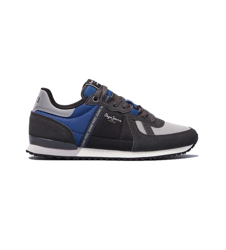 Pepe Jeans Sneakers Tinker Zero Tape dark grey