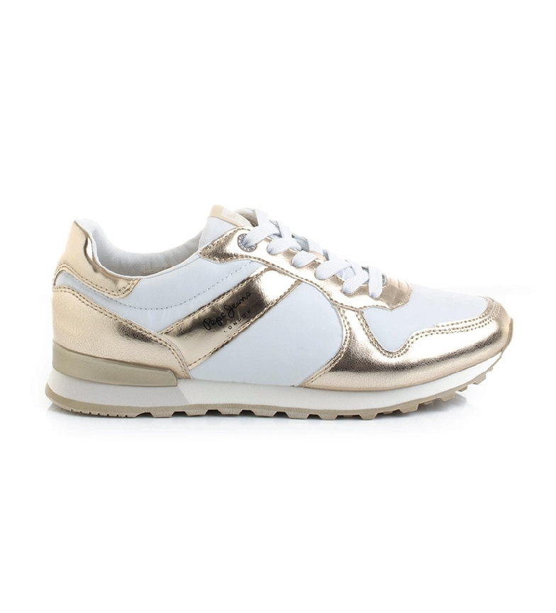Comprar Pepe Jeans Verona W Greek 2 chaussures blanches, or