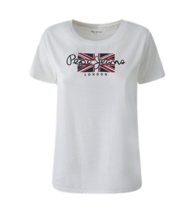 Pepe Jeans Camiseta Zaidas blanco