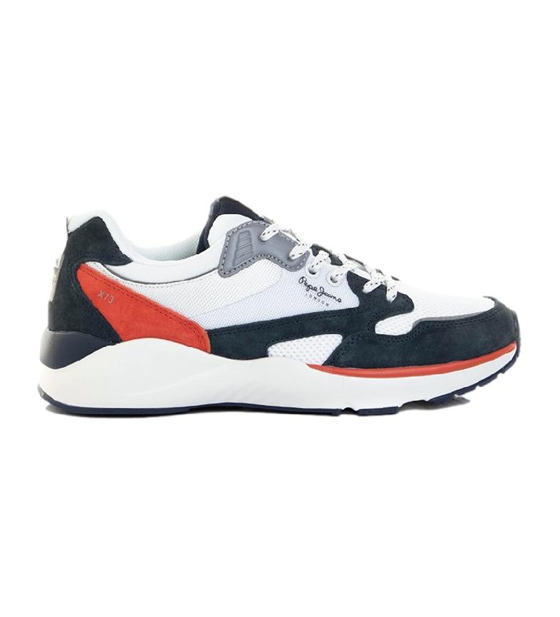 Comprar Pepe Jeans Chaussures de marine Blake X73, blanches