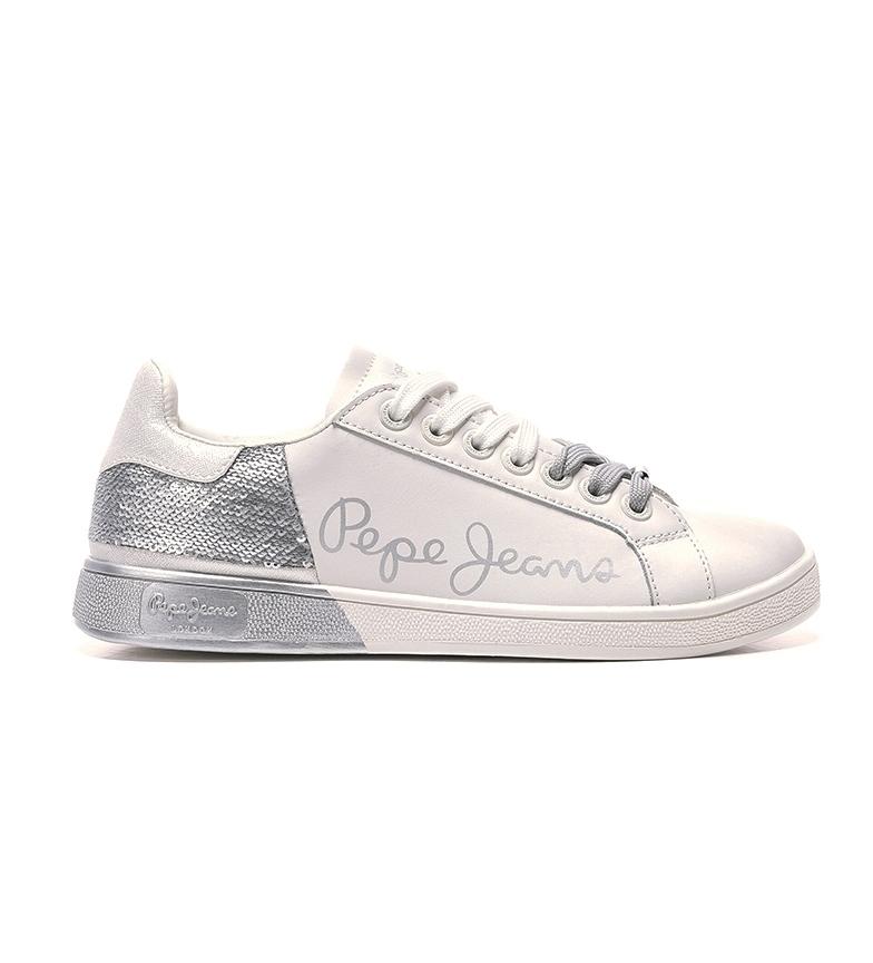 Comprar Pepe Jeans Sapatos Combinados de Prata Brompton Sequins
