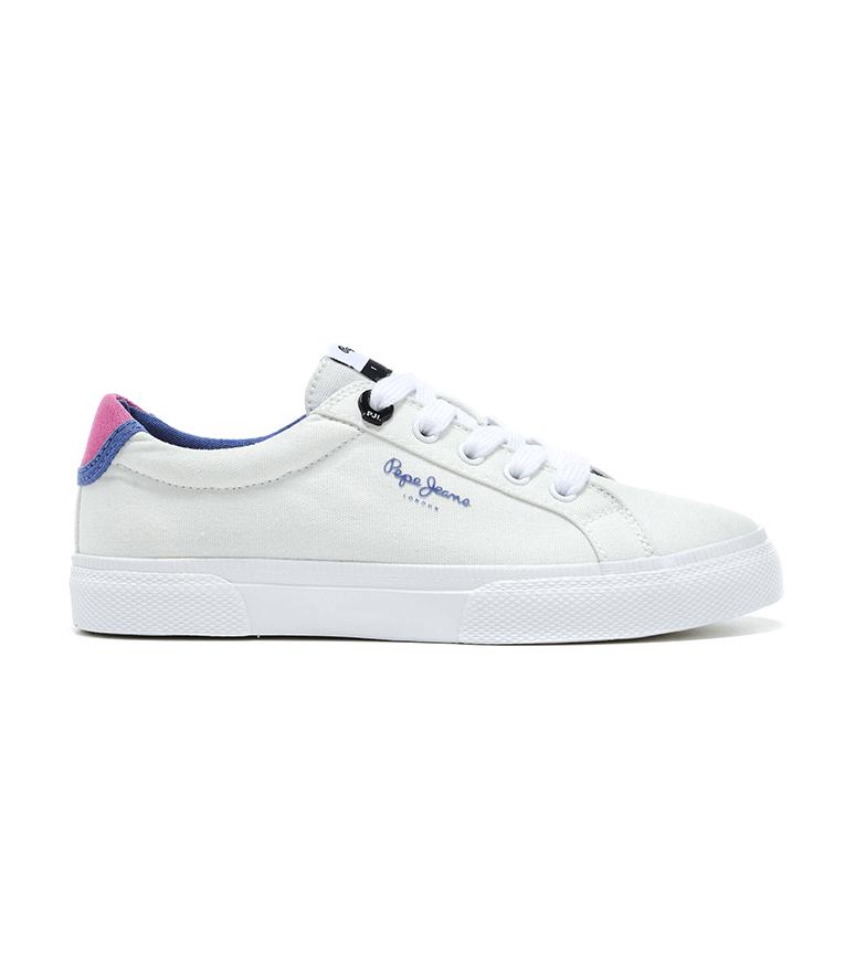 Comprar Pepe Jeans Zapatillas Kenton Basic Girl blanco