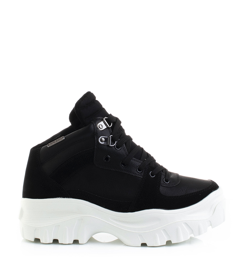 Comprar Pepe Jeans Mayfair Warm shoes black - Platform height: 5cm