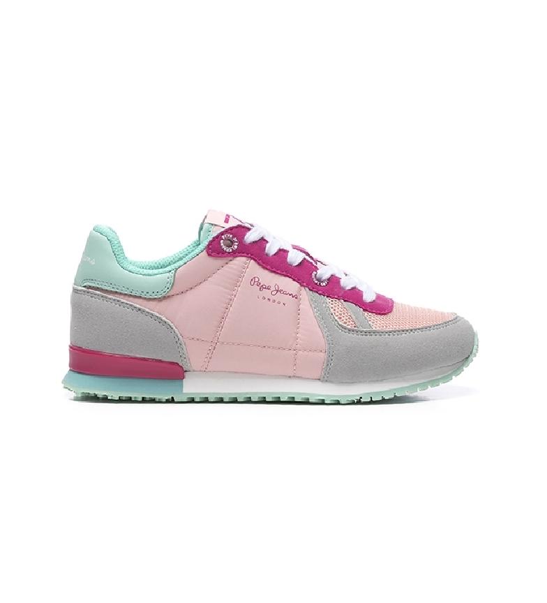 Comprar Pepe Jeans Baskets Sydney Basic Girl Gris, rose