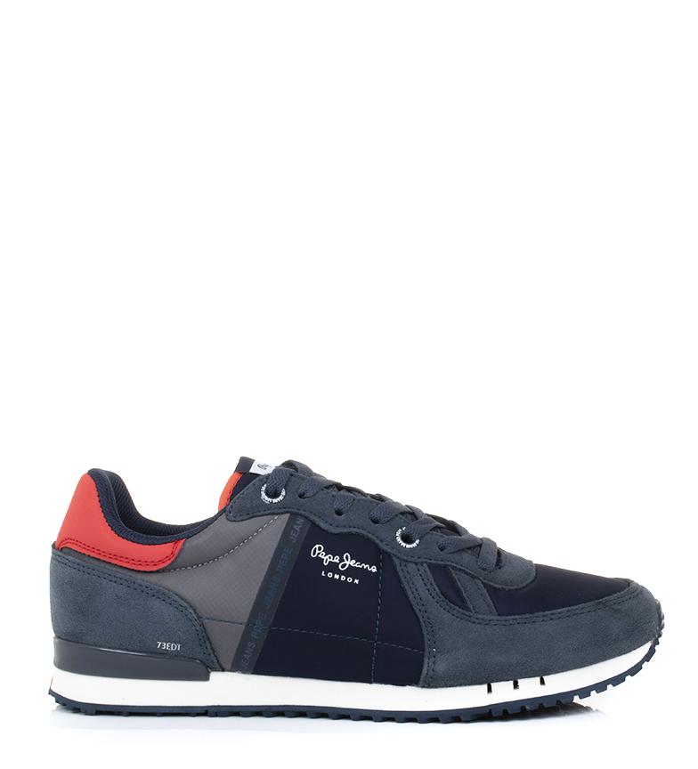 Comprar Pepe Jeans Tinker Zero Chaussures Marine Réfléchissantes