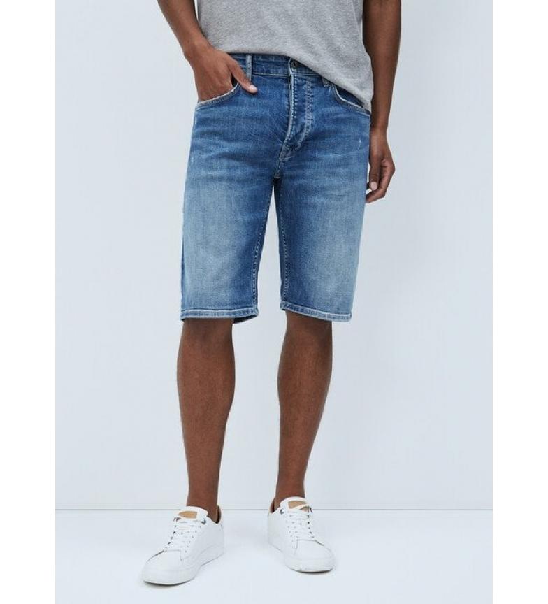 Comprar Pepe Jeans Calção de ganga Callen Bermuda azul