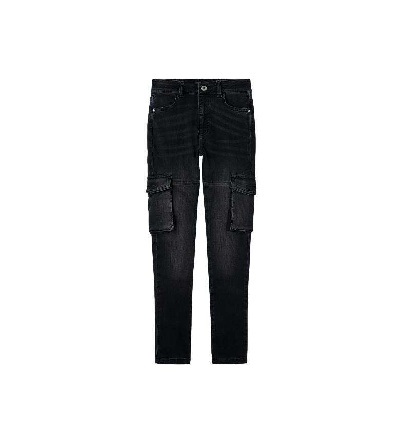 Comprar Pepe Jeans Cargo Jeans Pixlette High noir