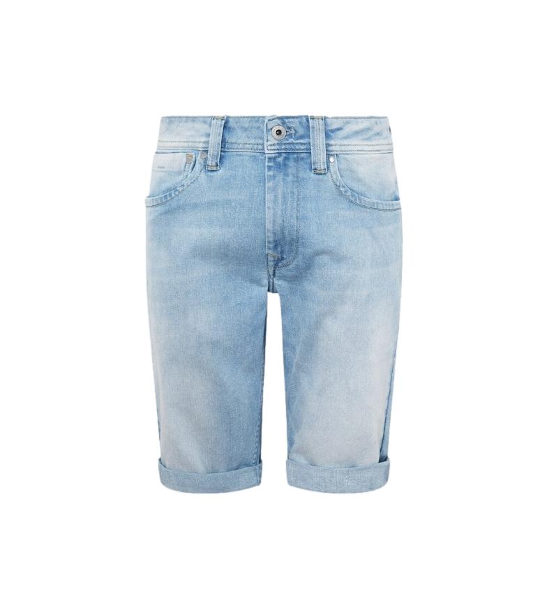 Comprar Pepe Jeans Bermuda in Cashmere Blu Denim