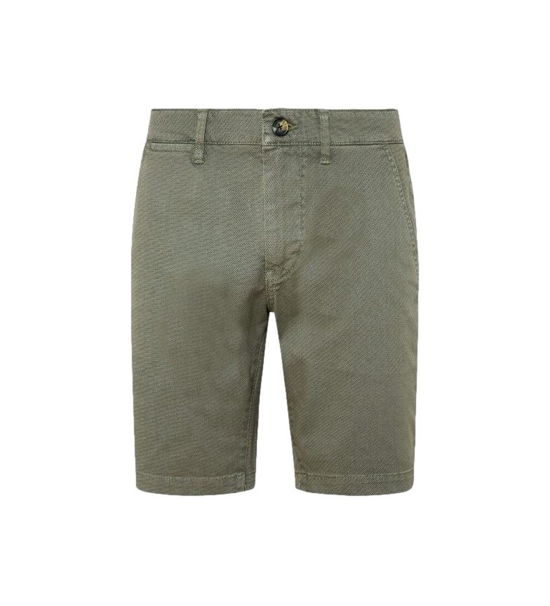 Pepe Jeans Bermuda shorts Chino Charly green