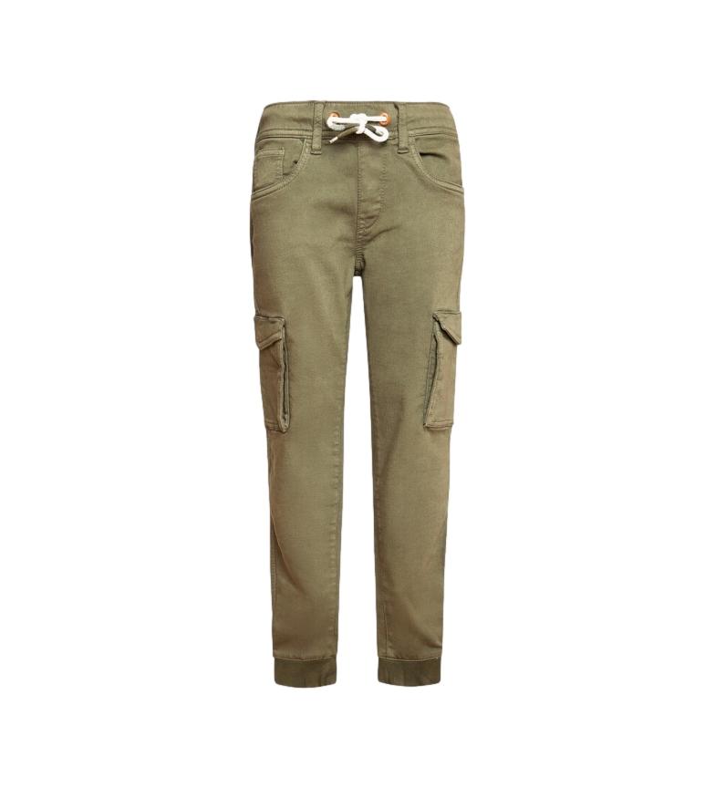 Pepe Jeans Pantalon cargo Gymdigo Chase vert