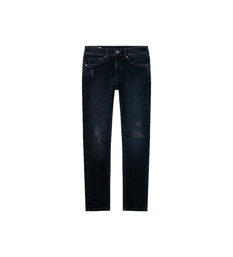 Comprar Pepe Jeans Finly Pantalon skinny taille basse marine