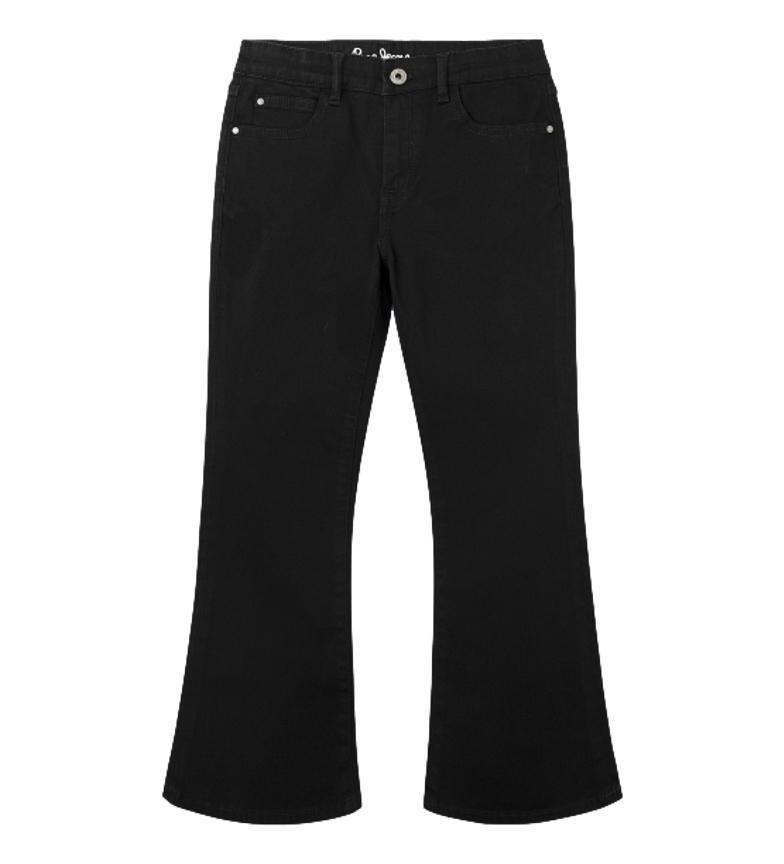 Comprar Pepe Jeans Pantalon évasé à fond cloche Kimberly noir