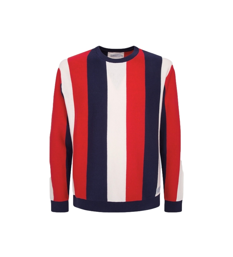 Comprar Pepe Jeans Michael striped sweater red, navy