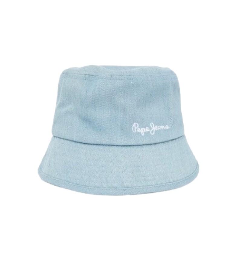 Pepe Jeans Cappello da pescatore blu Paloma