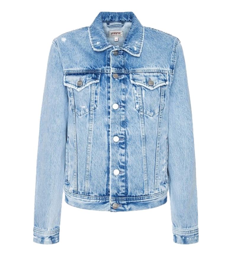 Comprar Pepe Jeans Chaqueta Rose denim azul claro