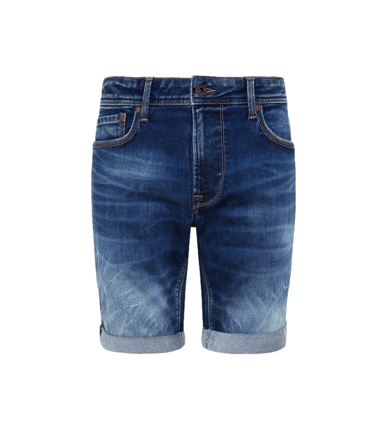 Comprar Pepe Jeans Denim Stanley Calções de bermuda da Marinha Negra