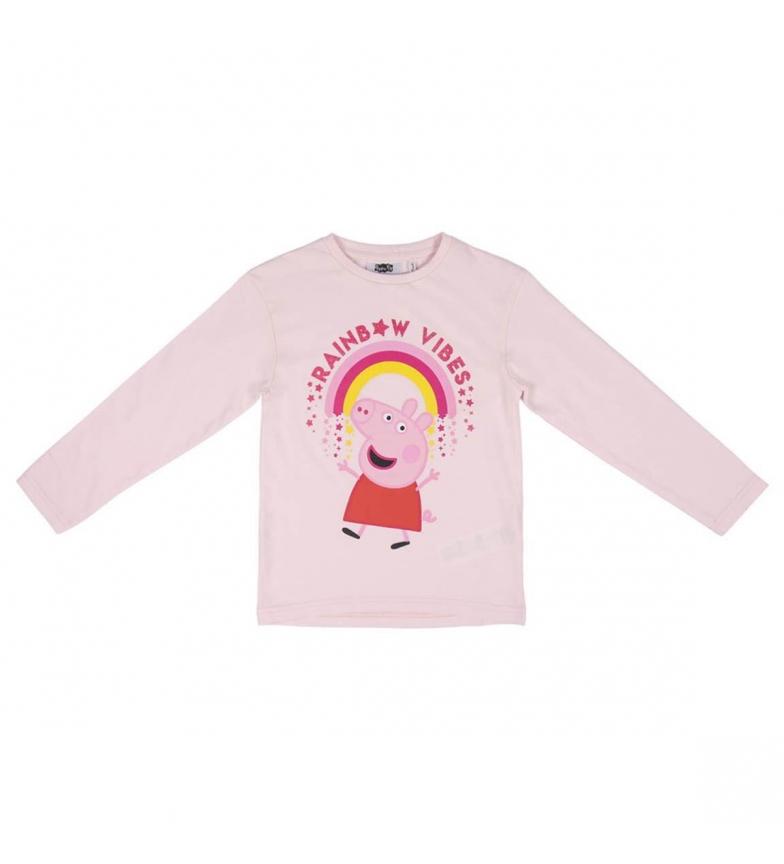 Comprar Cerdá Group Premium Long Glitter Single Jersey Peppa Pig Pink