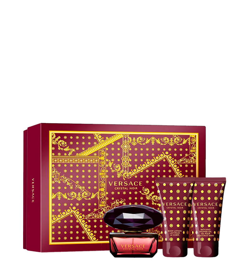 Comprar Versace Versace; Lote 3pz Crystal Noir edt 50ml