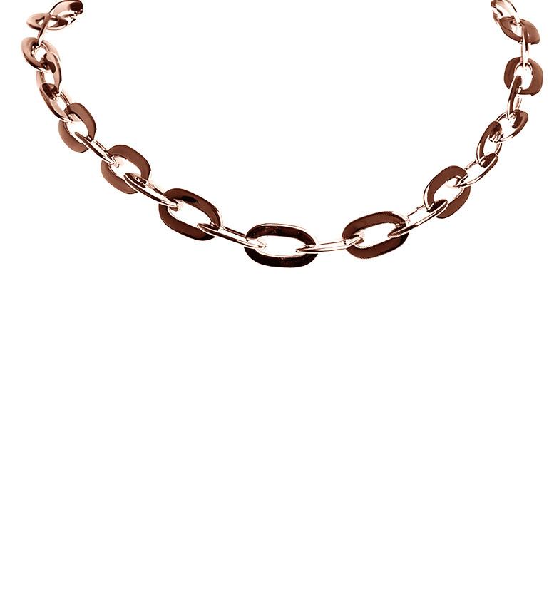 Comprar Pertegaz Pink golden chains necklace