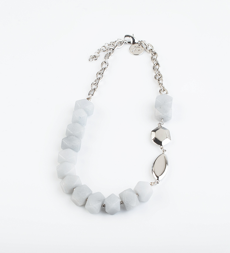 Comprar Pertegaz Necklace Natural Blue silver, grey