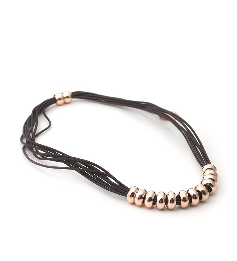 Comprar Pertegaz Pink, brown necklace Funny
