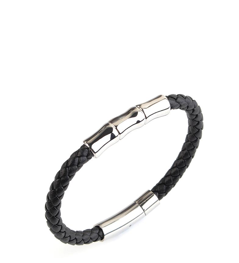 Comprar Pertegaz Leather bracelet Manuel Bambú black