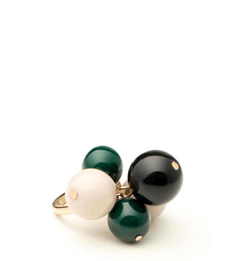 Comprar Pertegaz Set 2 rings Caviar gold-T14 / T16-