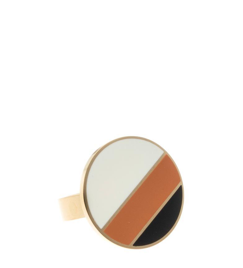 Comprar Pertegaz Golden Cleo button ring -Set of two sizes-