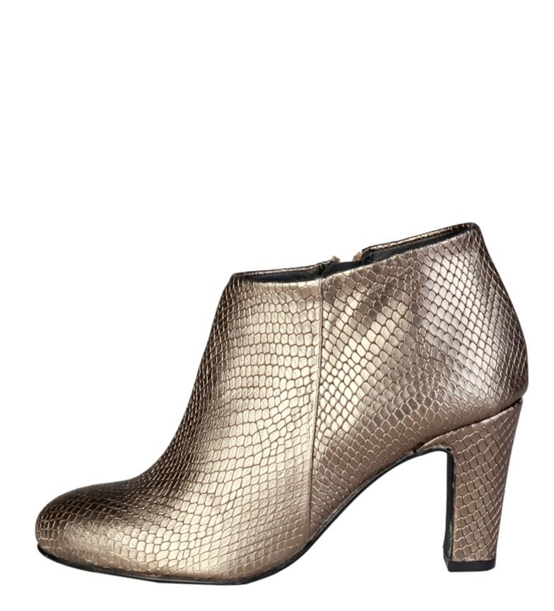Comprar Pierre Cardin Botines de piel 7226211 dorado -Altura tacón: 8cm-