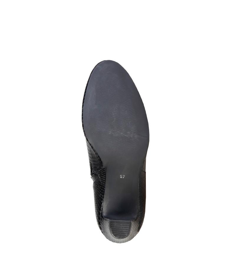 Pierre Cardin Botines de piel 7226211 negro  Altura tacón: 8cm