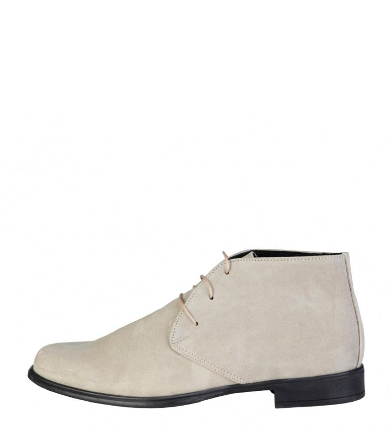 Comprar Pierre Cardin Beige stivali di pelle Esusebe