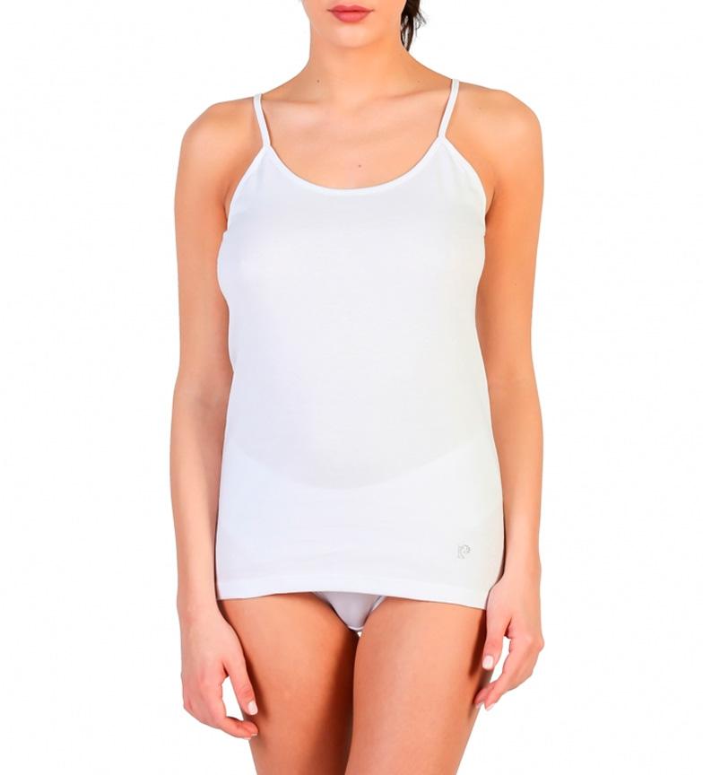 Comprar Pierre Cardin Camicia di cotone bianca Carmen