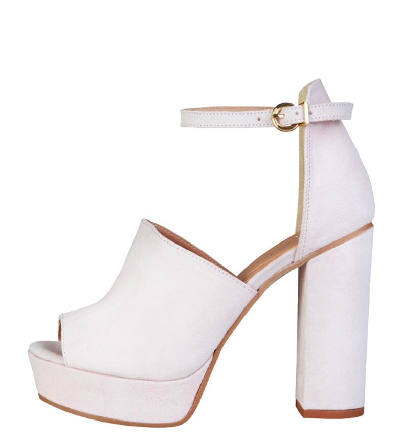 Comprar Pierre Cardin Sandalias de piel Micheline rosa -Altura tacón: 12cm-