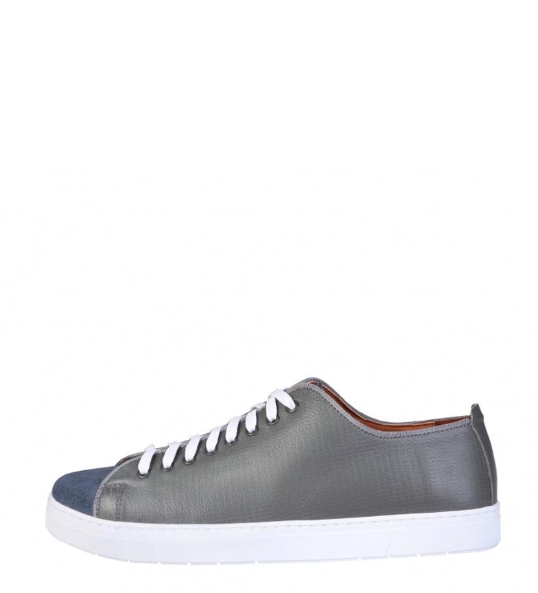 Comprar Pierre Cardin Zapatillas de piel Edgard  gris