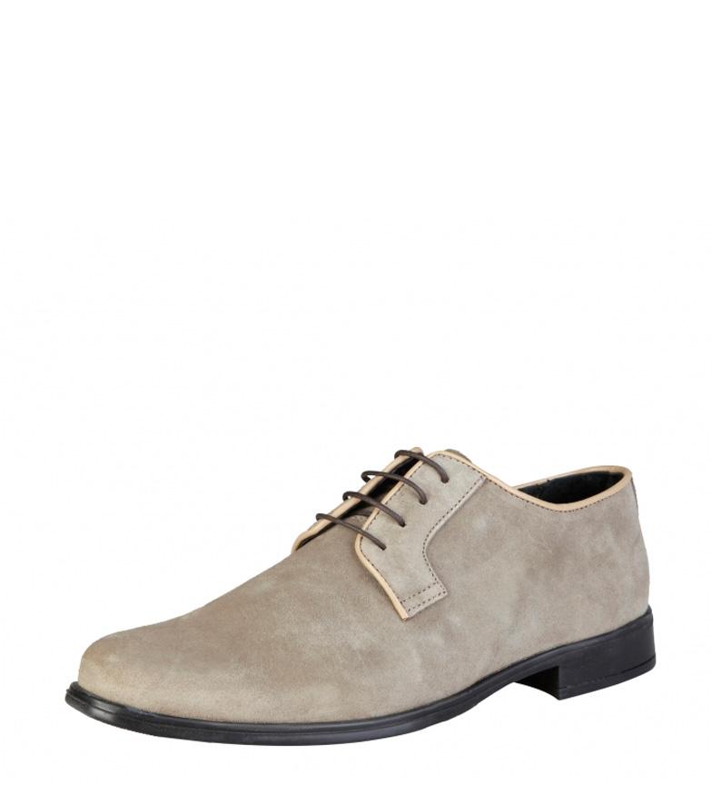Pierre Cardin Zapatos de piel Alberic taupe