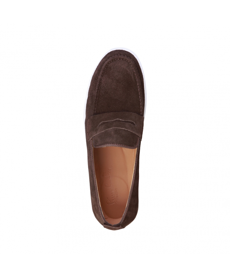 Marrn Alphonse Zapatos Chocolate Piel Cardin Pierre De QrdsBtxhCo