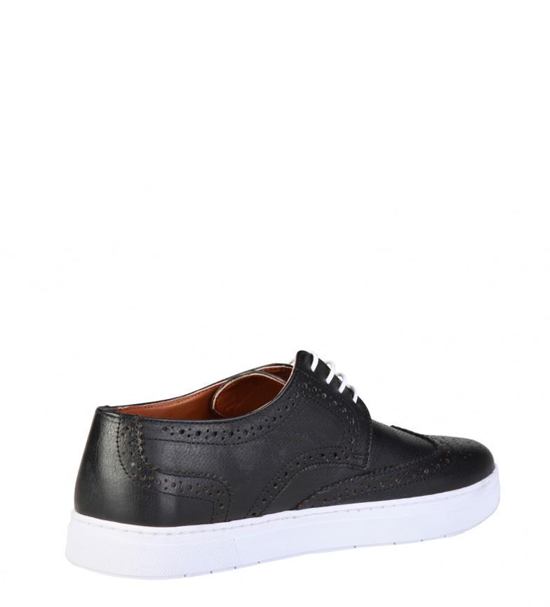 Pierre Cardin Zapatos de piel Lucien negro